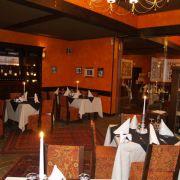 ресторант Табиет-зала с камина